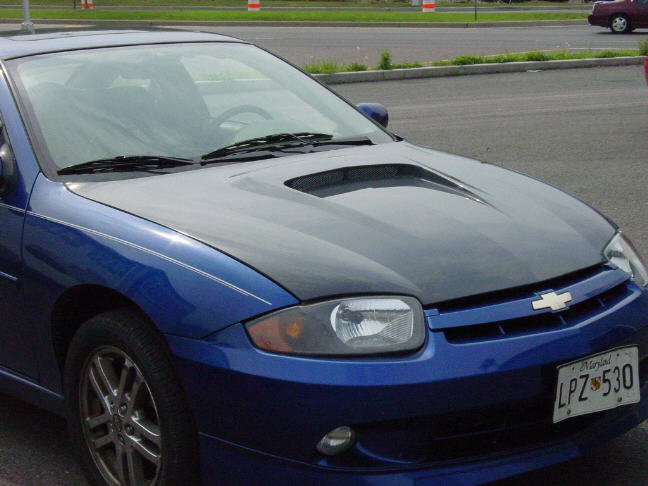 2003 2005 Chevy Cavalier Fiberglass Hood